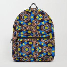 Bright Beadwork Inspired Print Backpack