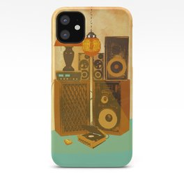 RECORD ROOM iPhone Case