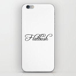 Flatbush iPhone Skin