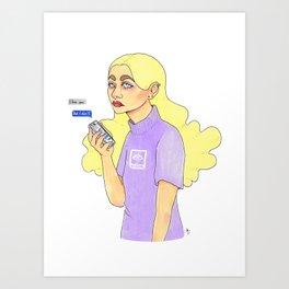 But i don't Art Print