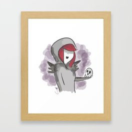 The undertaker Framed Art Print