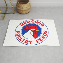 RED COMB Rug