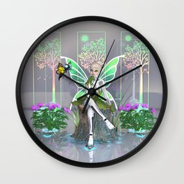 Tinkerbot and the Digital Forest Wall Clock