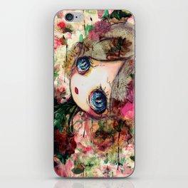 Creature in Bloom iPhone Skin
