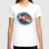 koi T-shirts featuring Koi by Ken Coleman