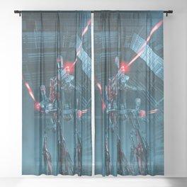 The Assault Sheer Curtain