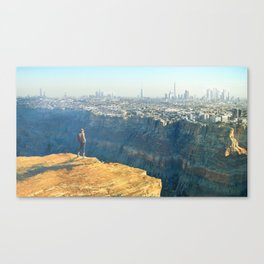 Earth 3015 Canvas Print
