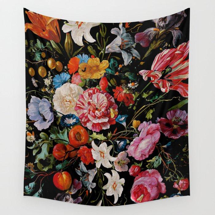 Night Garden XXXVI Wall Tapestry