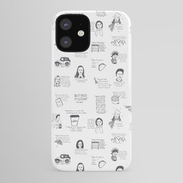 Gilmore Girls quotes iPhone Case