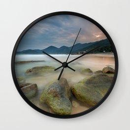 Hot and Cold Wall Clock
