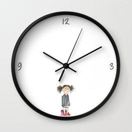 Being a child Wall Clock
