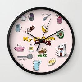 My kitchen story Wall Clock