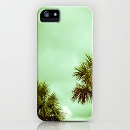 Palmetto Trees iPhone Case