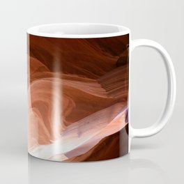 Antelope Canyon Reddish And Blue Tones Coffee Mug