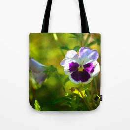 Beautiful Pansy  Tote Bag