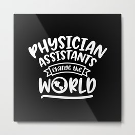 Physician assistant, pa, physician's Metal Print