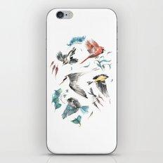 Birdwatching iPhone Skin