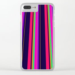 vivid perspective Clear iPhone Case