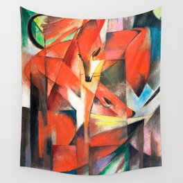 Franz Marc  - The Foxes Wall Tapestry