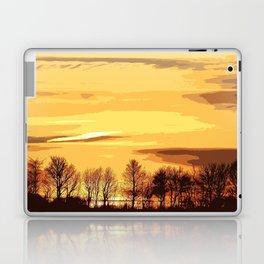 sunset lanscape Laptop & iPad Skin