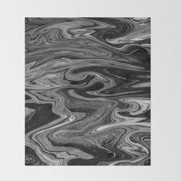 Marbled XIX Throw Blanket