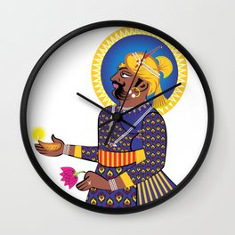 Great Indian King Wall Clock