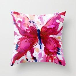 Butterfly Joy No. 7 Throw Pillow