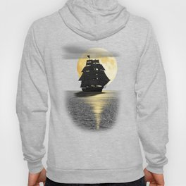 A ship with black sails Hoody