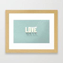 Love/Hate: Part 2 Framed Art Print