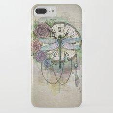 Time flies Slim Case iPhone 7 Plus