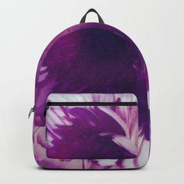 Blue Glowing Flowers Backpack