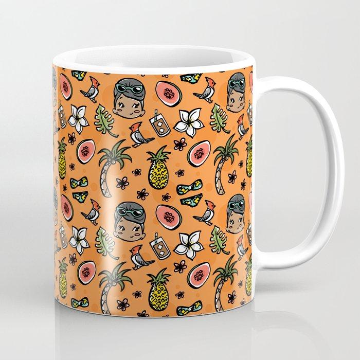 Hawaiian Dreaming - Orange Coffee Mug