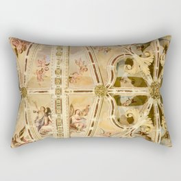 Look Up at the Angels Rectangular Pillow