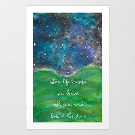 Look At The Stars Art Print
