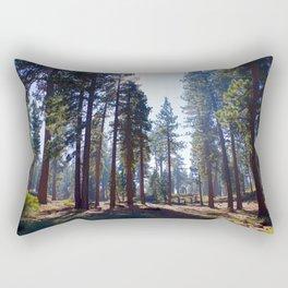 Big Bear Pines Rectangular Pillow