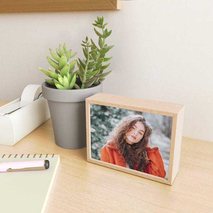 The Woman Sees Through You Framed Mini Art Print
