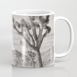 Joshua Tree Grey By CREYES Coffee Mug