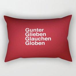 Gunter Glieben Glauchen Globen Rectangular Pillow
