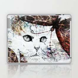 Miaow! Laptop & iPad Skin