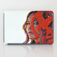 katniss iPad Cases featuring Katniss by Alina Rubanenko