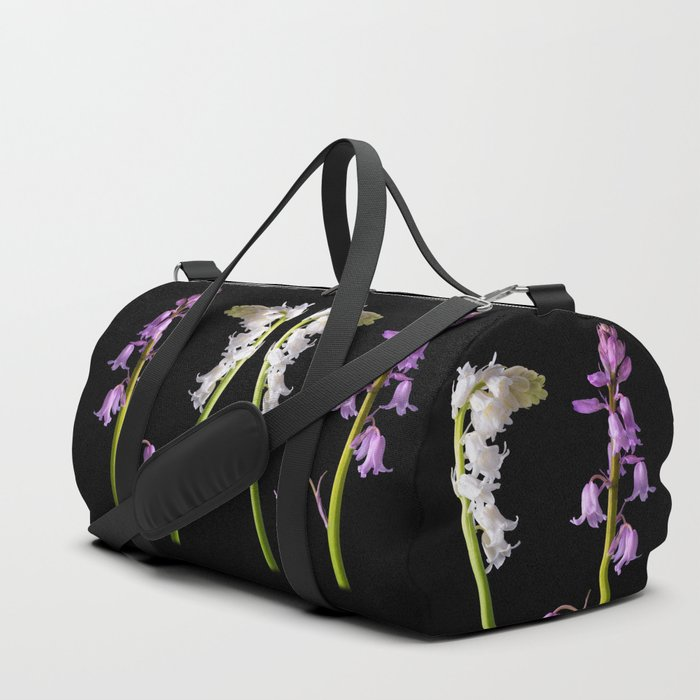 Pinkbells, Whitebells Duffle Bag