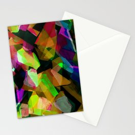 Geometric Puzzel Stationery Cards