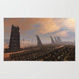Medieval Army in Battle Rug