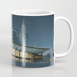 Monumental city at night Coffee Mug
