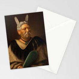 Wahanui Reihana Te Huatare, by Gottfried Lindauer Stationery Cards