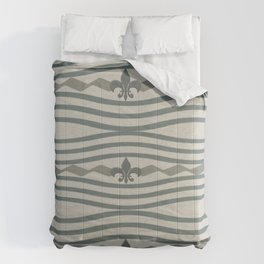 Corduroy Pattern Lines Comforters
