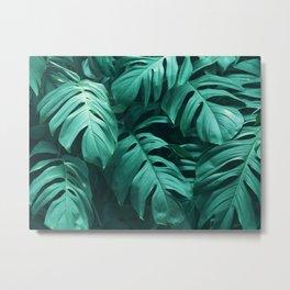Plant collage V Metal Print