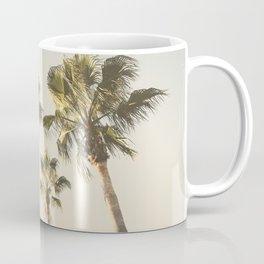 Palms. At the beach. Loving summer Coffee Mug