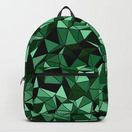 Emerald Lo Poly Backpack