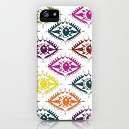 """""""I see you"""" orient eye pattern iPhone Case"""